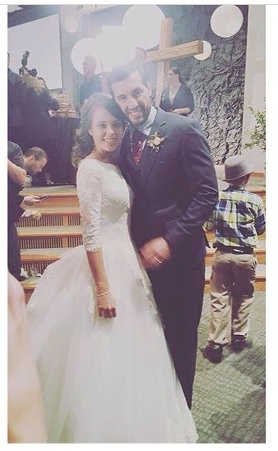 Jinger and Jeremy Vuolo on their wedding day - 11-05-16
