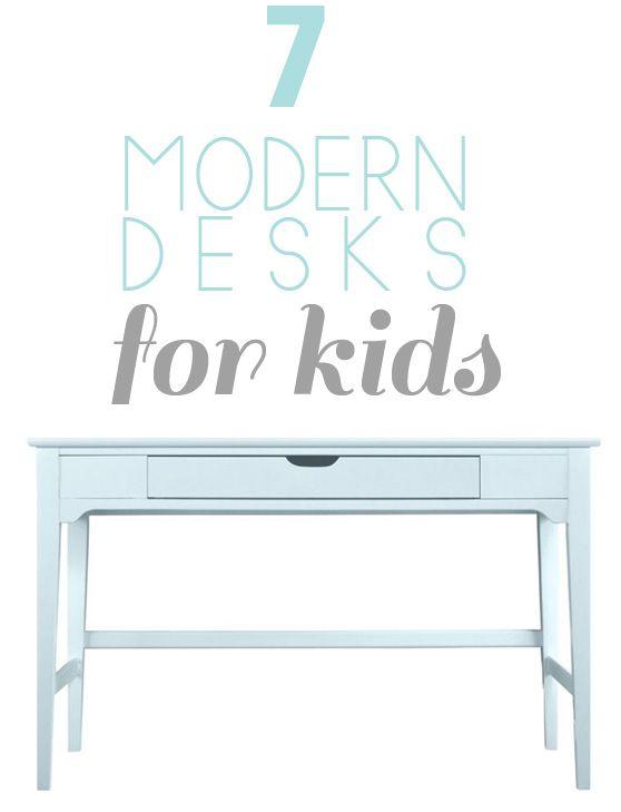 modern kids' desks…