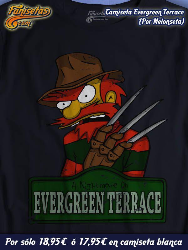 """""""Pesadilla en Evergreen Terrace"""" #Willie aterroriza a los vecinos de #Springfield convirtiendo sus placenteros sueños en auténticas pesadillas! #Camisetas #Simpsons #Fanisetas http://www.fanisetas.com/camiseta-nightmare-on-evergreen-terrace-por-melonseta-p-5965.html"""