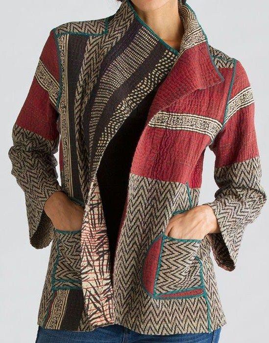 handwoven jacket Lovely