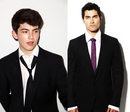 Ian Nelson with be young Derek in Season 3 of Teen Wolf. He was the boy from district three in the HG.