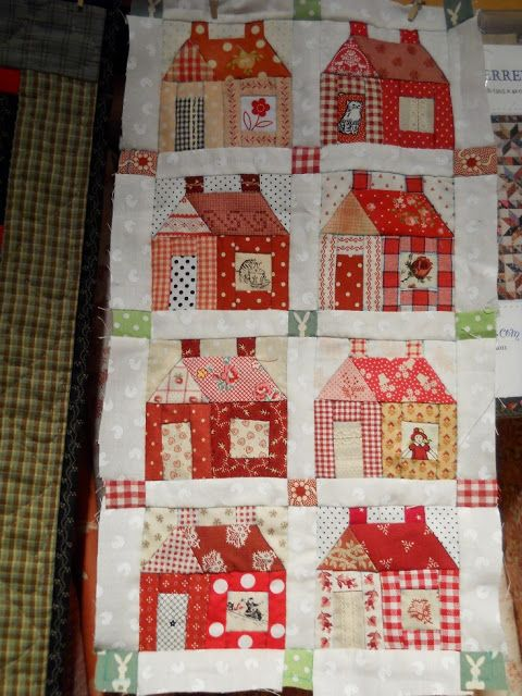 316 best QUILT HOUSES images on Pinterest   Crafts, Diet and Fabric : house patterns for quilts - Adamdwight.com