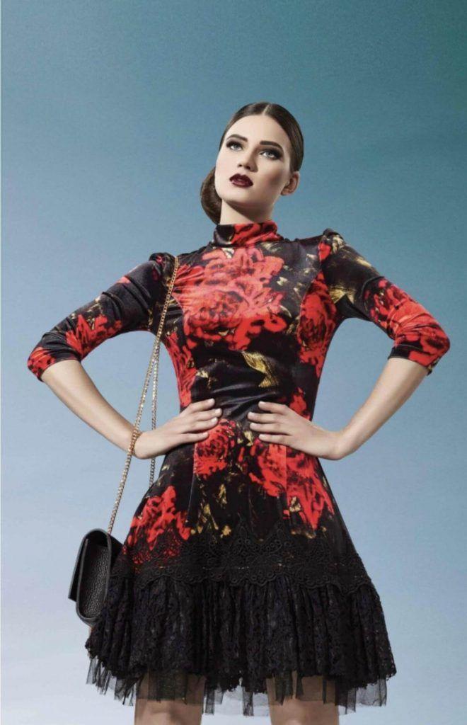 برند لباس مجلسی ترک Sassofono Fashion Victorian Dress Formal Dresses