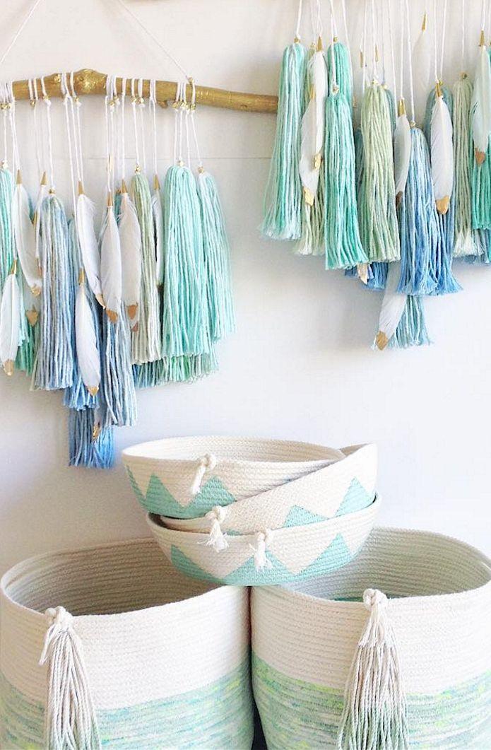 Dreamy Girls Room Decor | TwigandTassel on Etsy