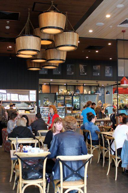 JAMAICA BLUE | #Cafe #Restaurant #Shop #Fit #Out #Mesh #Tiles #Powder #Coat #Framework #Chalkboards #Rustic #Industrial #Drum #Barrel #Pendant #Lights