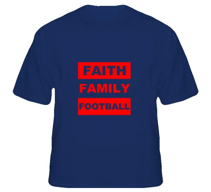Faith Family Football Ole Miss Fan T Shirt