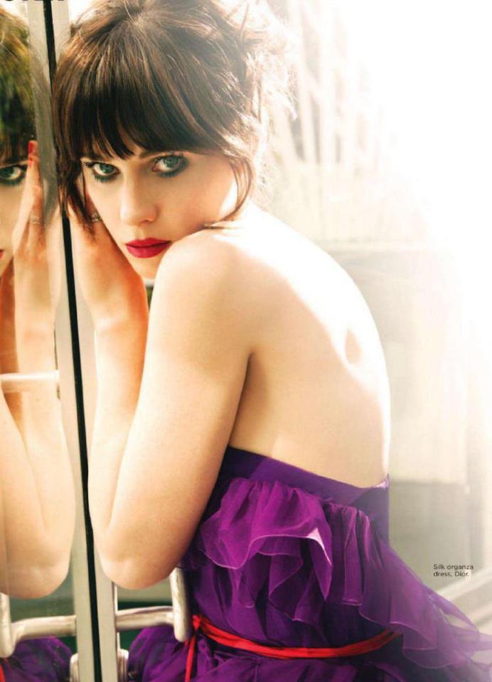 Zooey Deschanel (Born: Zooey Claire Deschanel - January 17, 1980 - Los Angeles, CA, USA)