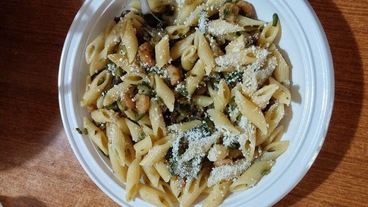 Quattro Chiacchiere Tra Donne: Pasta zucchine e gamberetti