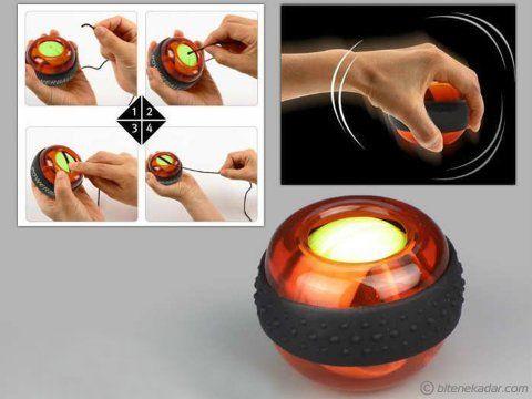 Bilek Egzersiz Topu - PowerBall | Bitenekadar.com