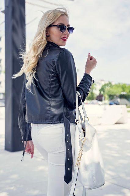 Black, white & stripes #outfits