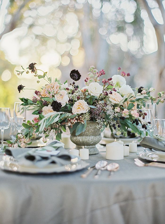 Old World Romance Wedding Inspiration | Floral by Gavita Flora | Photography by Hannah Suh