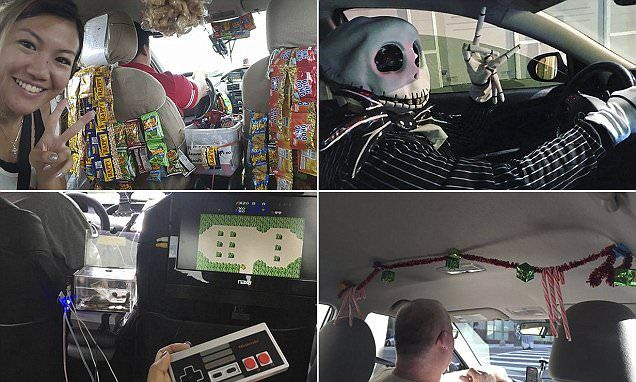 A hilarious online gallery has showcased some of the most creative Uber drivers who have surpassed themselves when it comes to their taxi services.