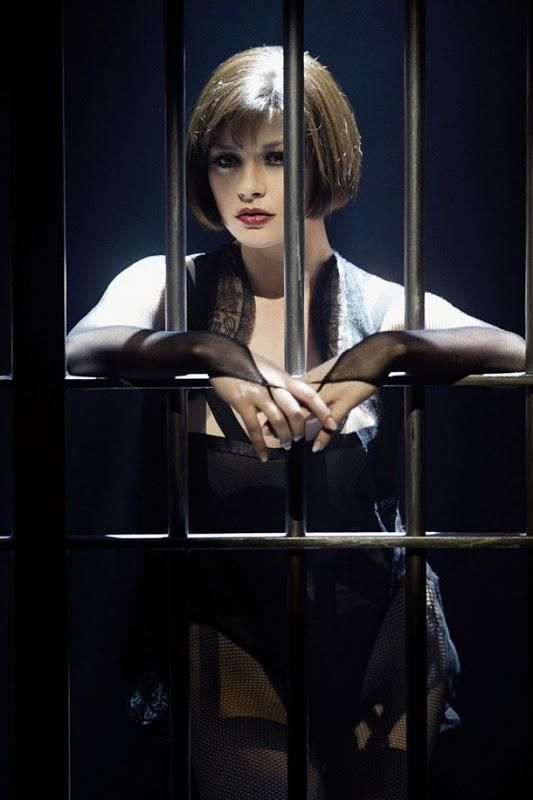 """It wasn't until later when I was washing the blood off my hands I even knew there were dead."" - Velma Kelly, Chicago"