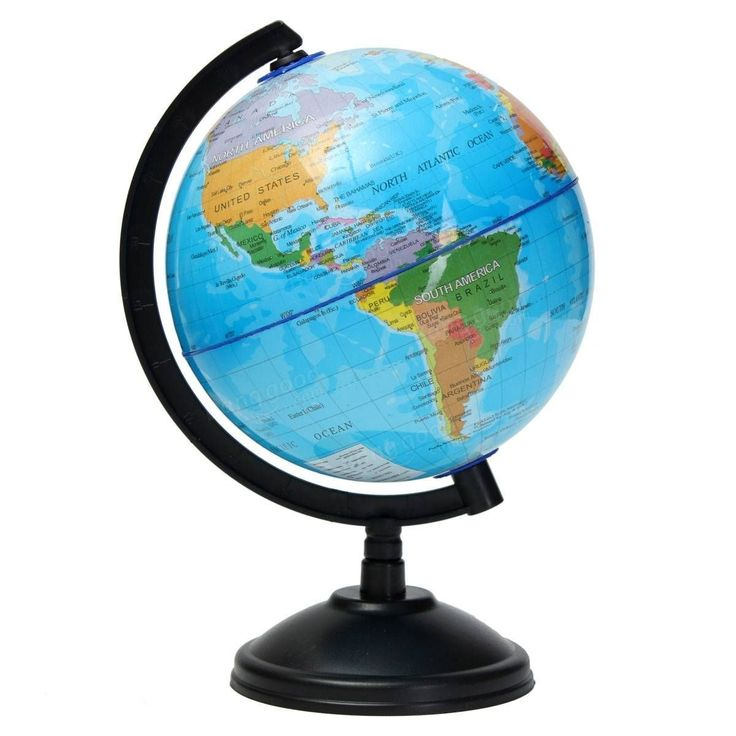 Best 25 world globe map ideas on pinterest globes paint 14cm world globe atlas map with swivel stand geography educational toy kids gift gumiabroncs Images