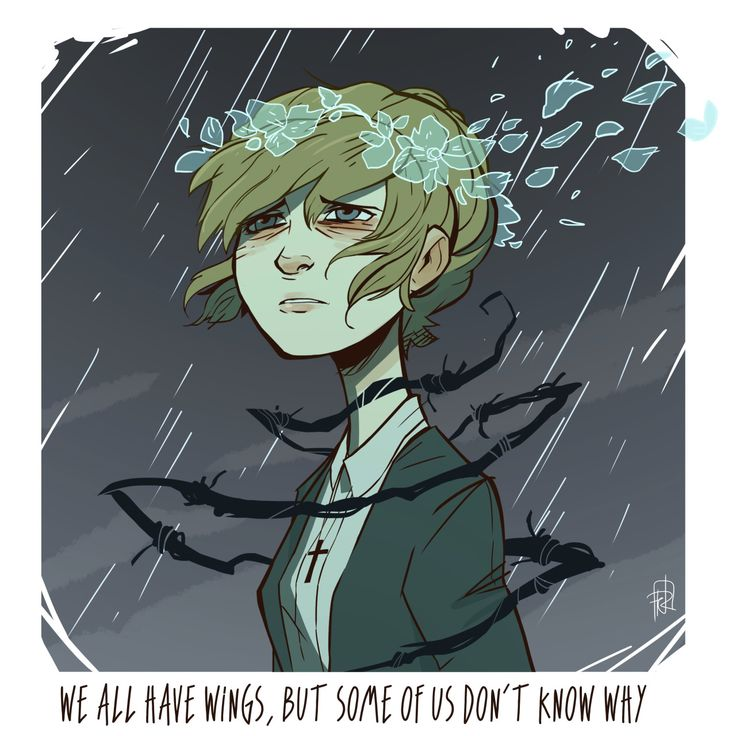 """Leave the horror here""I was really touched by the character of Kate Marsh in Life Is Strange, so once again a little fanart."