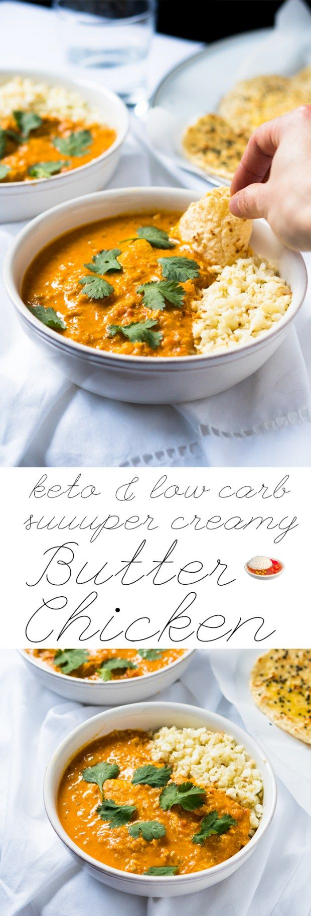 Low Carb & Keto Butter Chicken  #ketobutterchicken #butterchicken