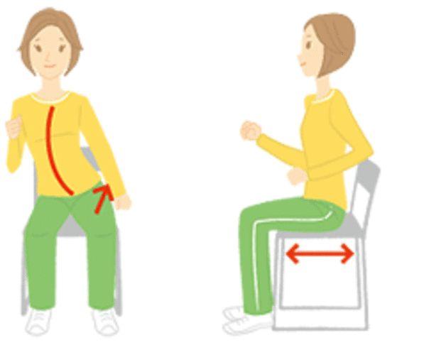 骨盤歩きをすると正しい座り方を覚えることができ、脂肪燃焼しやすい身体へと導くことができます。歪んだ骨盤を整える効果もあるので、エクササイズとしてもおすすめです。日々取り入れることで身体が激変しますよ♡