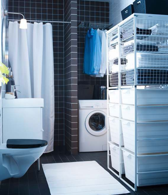White Bathroom Laundry Storage 116 best laundry room images on pinterest | home, laundry and room