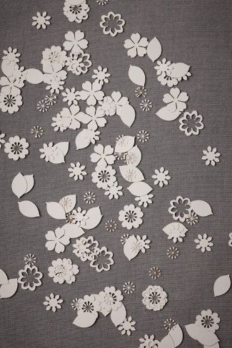 Beautiful Laser Cut Table Confetti Bhldn Find Awe Inspiring Wedding Ideas In The Pd Pinterest Orchards And