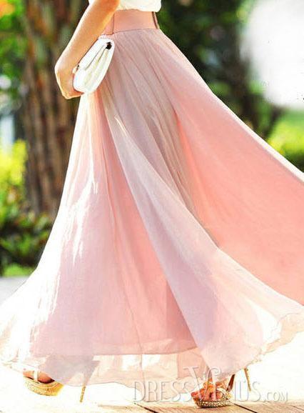 long elegant maxi skirt