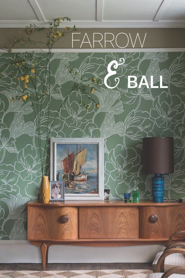 The new AW17 wallpaper collection from Farrow & Ball, on @stellerstories