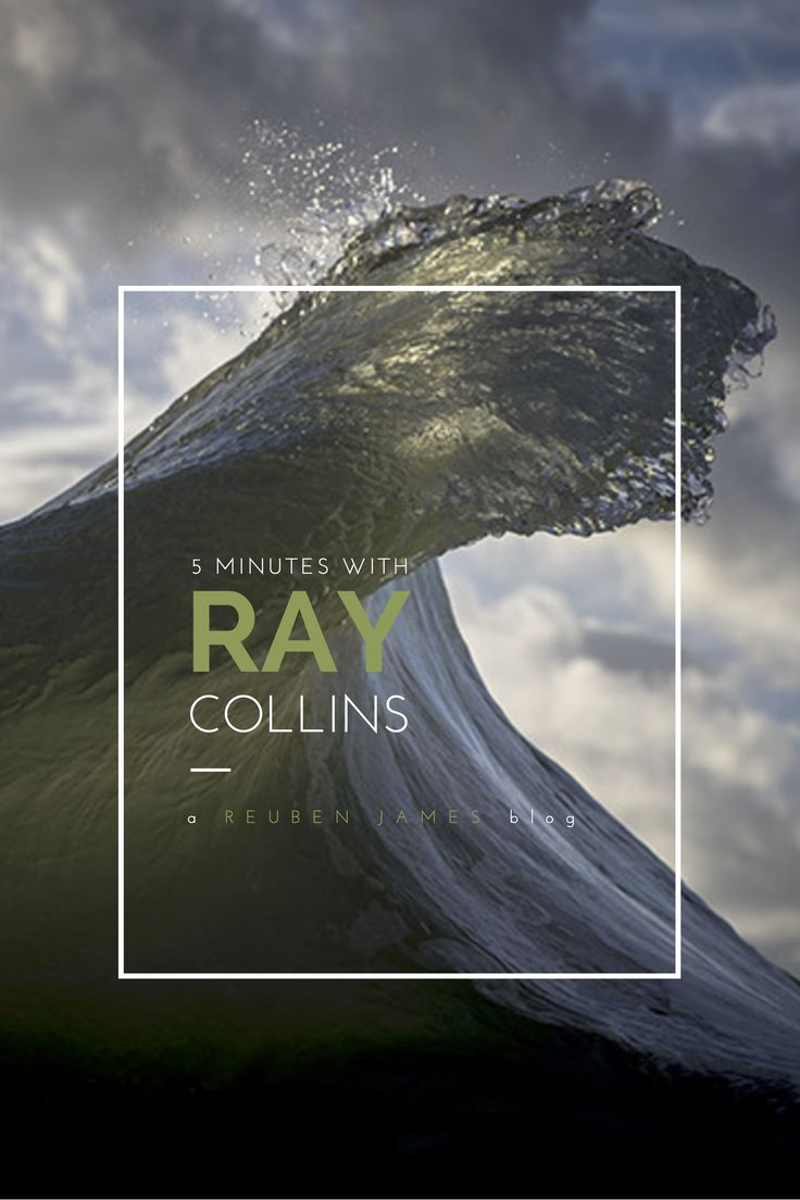 "Interview with ocean photographer Ray Collins.  ""I treat it (ocean) like a living thing, and I aim to take portraits of it""— Ray Collins"
