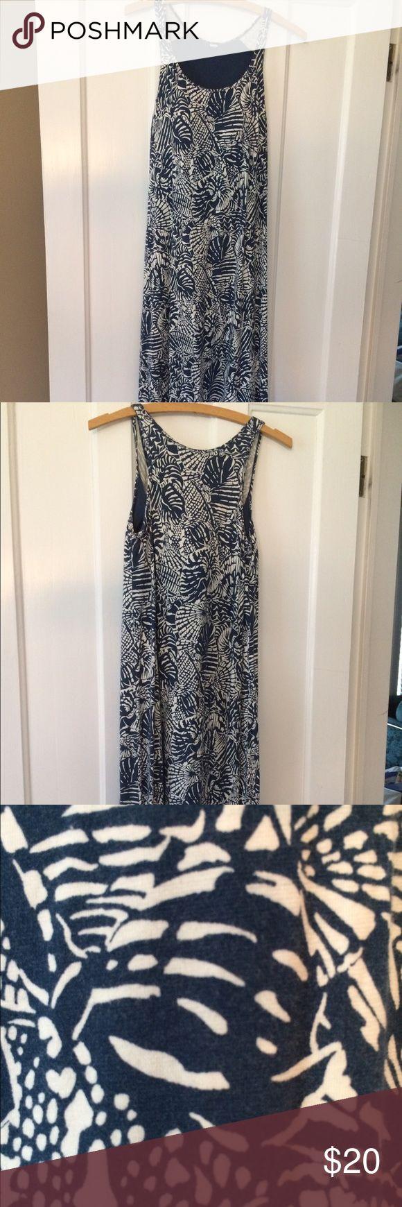 Uniqlo maxi Cute island print! Uniqlo dress w built in bra UNIQLO Dresses Maxi