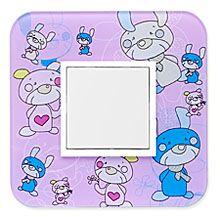 90910_RM: 1 - rámček, farebný mackovia