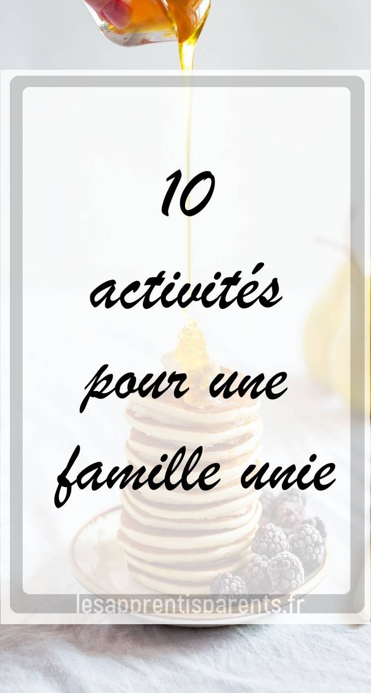 10 Activities for a United Family – Apprenticeship