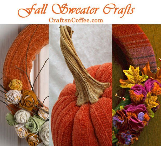 Craftsncoffee Com Has A Gorgeous Collection Of Fall Crafts