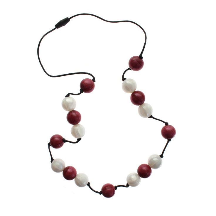 Nice and festive the cranberry bubba beads