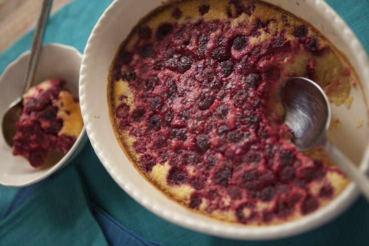 Lemon Raspberry Pudding, Gluten Free #tenina #thermomix #vegetarian #newbook