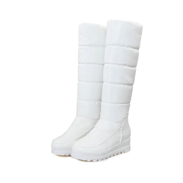 Winter Snow Boots in Black Blue Red or White up to Size 12