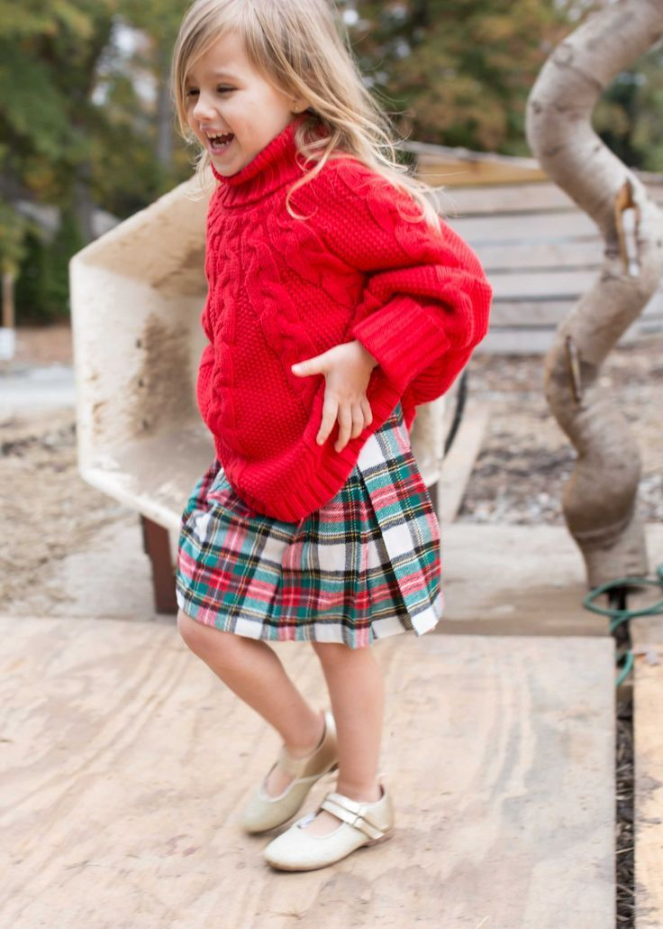 e05fbc22 The cutest little girls holiday outfit! Kids fashion inspiration //  Christmas attire #lovecarters
