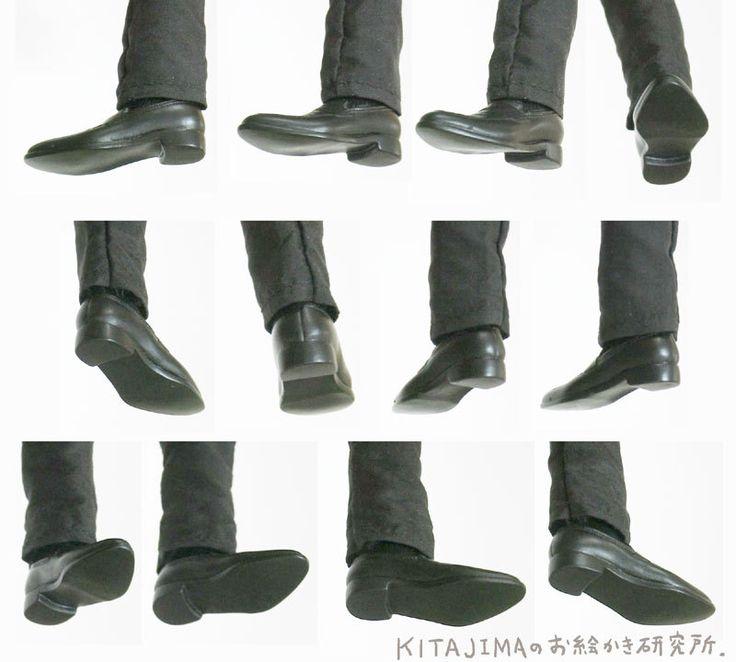 drawthatshitt: Feet + shoes reference... - みたいもん!クリッパー                                                                                                                                                                                 もっと見る