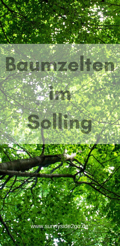 Übernachten im Baumzelt - ein kleines Abenteuer im Weserbergland in Niedersachsen.