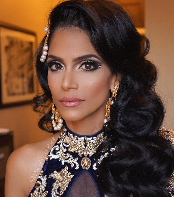 Best 25 Indian Wedding Hairstyles Ideas On Pinterest: 25+ Best Ideas About Indian Bridal Hair On Pinterest