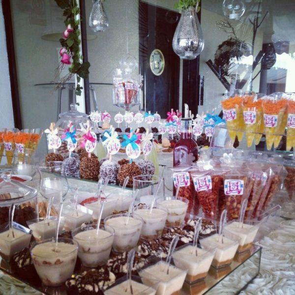 Servicio de candybar o mesas de dulces saltillo for Barra bar vintage