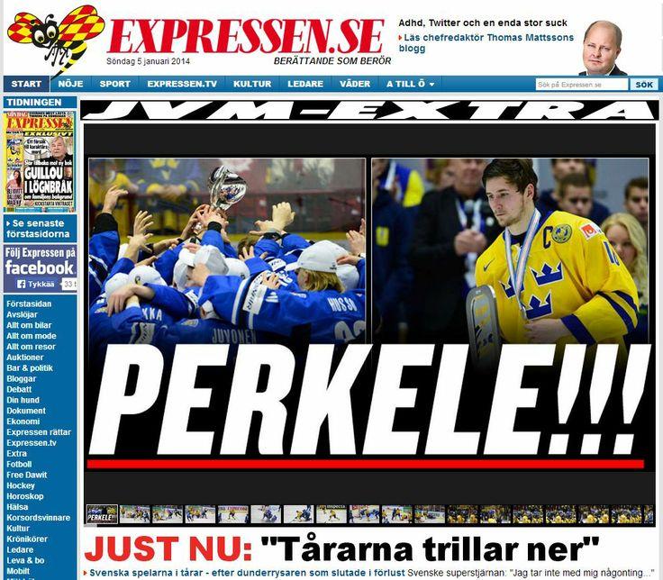 Finland-Sweden 3-2