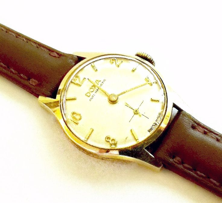 Echte DOXA Schweiz 585 Gold Uhr 50er Jahre Armbanduhr Echtschmuck aus Nachlass | Uhren & Schmuck, Armband- & Taschenuhren, Armbanduhren | eBay!