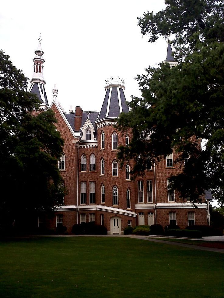 Mercer University Administration Building in Bibb County, Georgia.