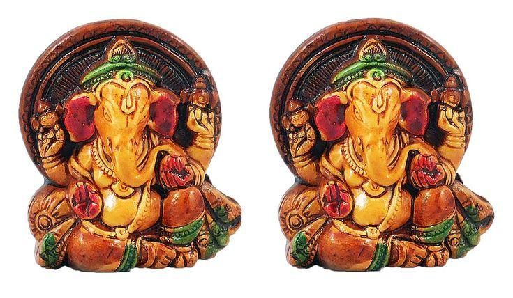 Pair of Ganesha (Terracotta)