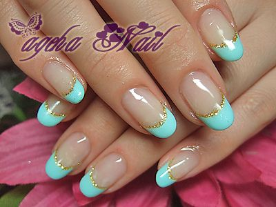 french nails. LIKE THE COLORS NOT THE ROUND NAIL - Best 25+ Round Nail Designs Ideas On Pinterest Rounded Stiletto