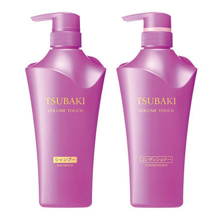 Details About Shiseido Tsubaki Volume Touch Hair Shampoo