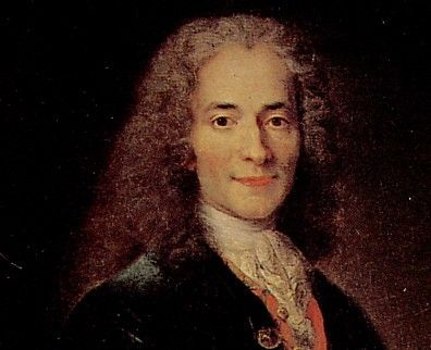 """Voltaire -French philosopher. - He believed that freedom of speech was the best weapon against bad government. - Spoke out against the corruption of the French government, and the intolerance of the Catholic Church. """"I disapprove of what you say, but I will defend to the death your right to say it"""""""