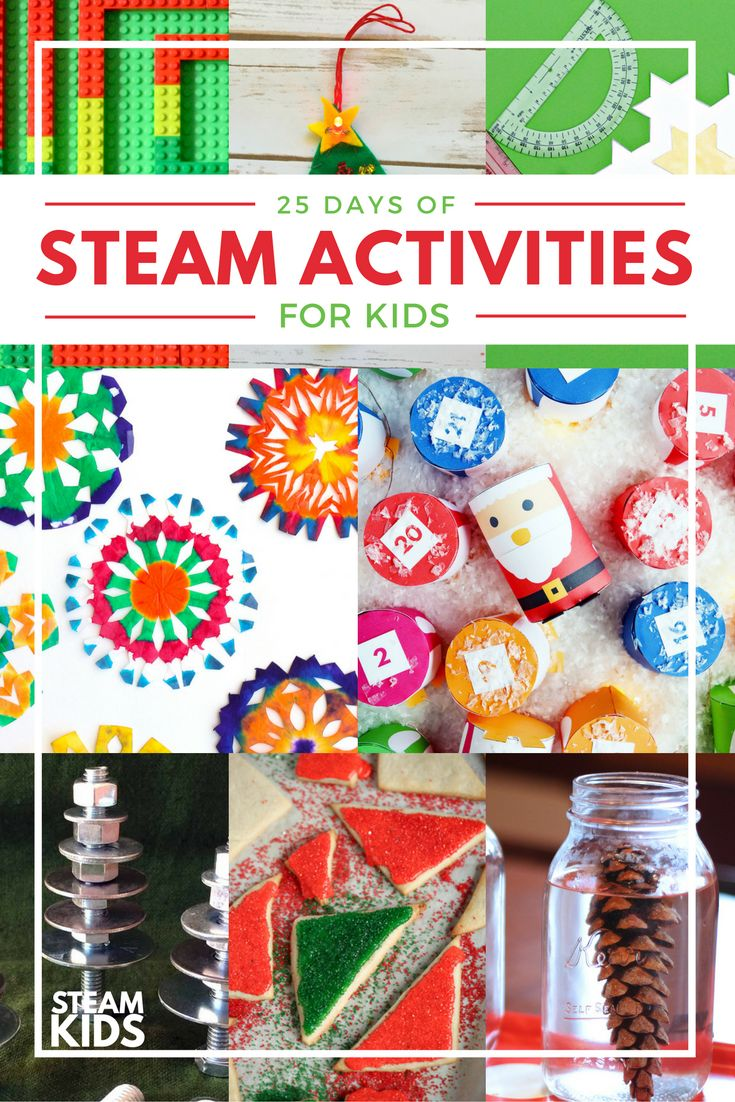 Do your kids love to tinker, build and experiment? Then this STEAM Kids Christmas Activity Countdown is perfect!