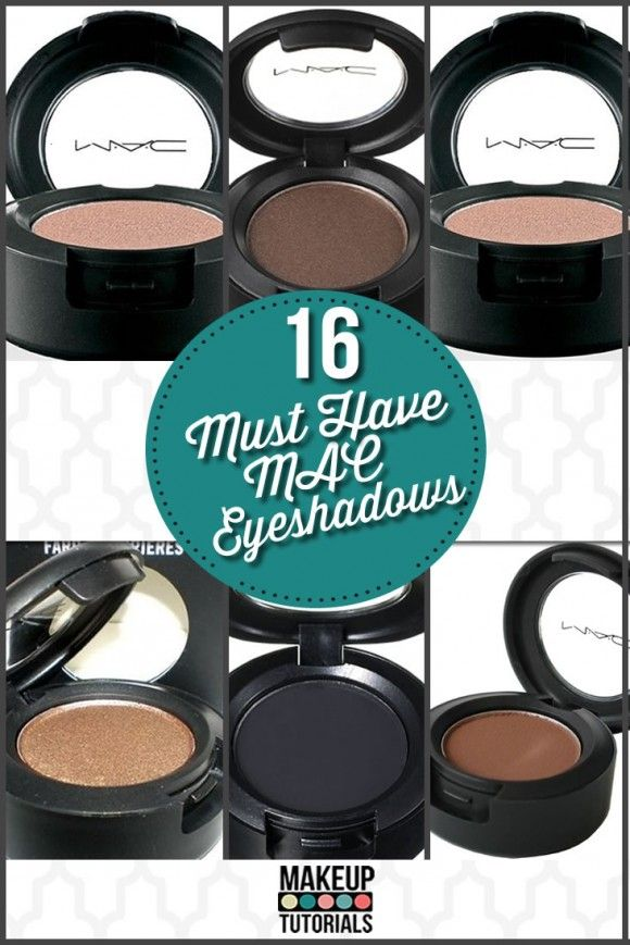 The best MAC eyeshadow colors that you need to buy. | http://makeuptutorials.com/makeup-tutorials-15-must-have-mac-eyeshadows/