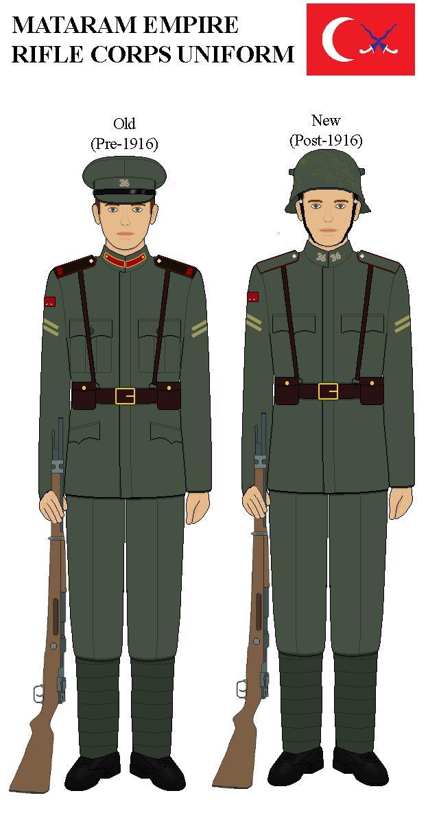 Mataram WW1 Rifleman Uniform by lordelpresidente.deviantart.com on @DeviantArt