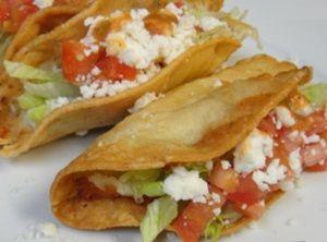 Tacos Dorados De Papa