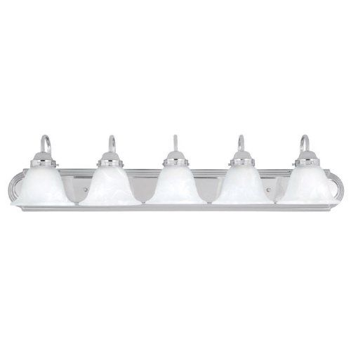 28 best lighting ceiling fans wall lights images on pinterest capital lighting 1035ch 118 5 light vanity fixture chrome finish with faux white mozeypictures Gallery